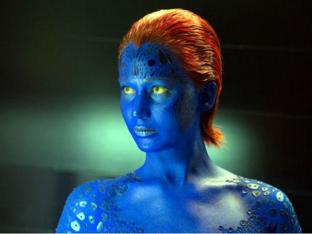 En X-Men: Apocalypse, será la última vez que ella deje de ser la mutante de piel azul.