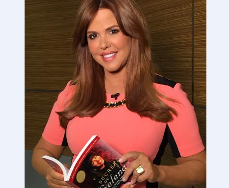 """La famosa presentadora de """"Al Rojo Vivo"""" de Telemundo."""