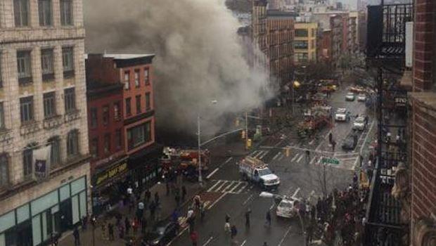 Explosión derrumba edificio en East Village