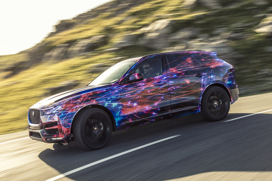 Jaguar dio una probadita de su nuevo F-Pace