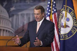 Boehner se irá sin someter a voto la reforma migratoria
