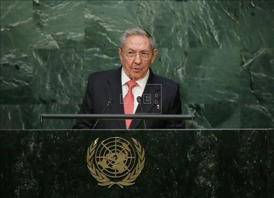 Raúl Castro critica el embargo a Cuba en la ONU (VIDEO)