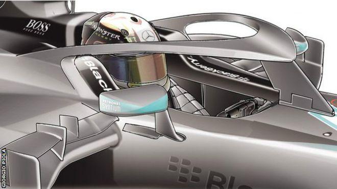 Diseños futuristas evitarían muertes en el automovilismo