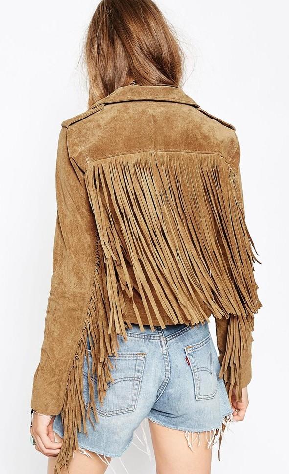 ¿Ya tienes tu chaqueta de flecos?