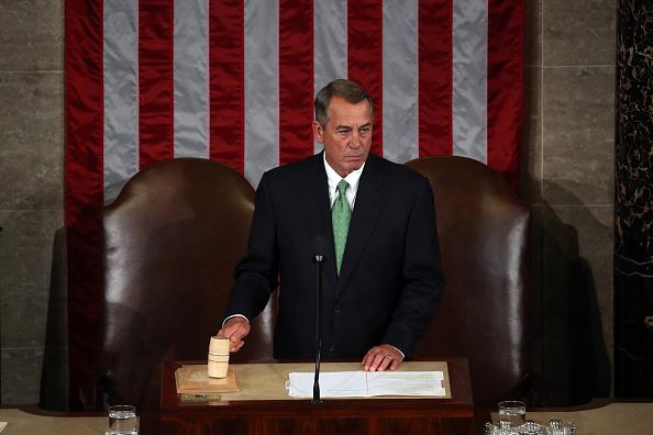 Boehner renuncia al Congreso