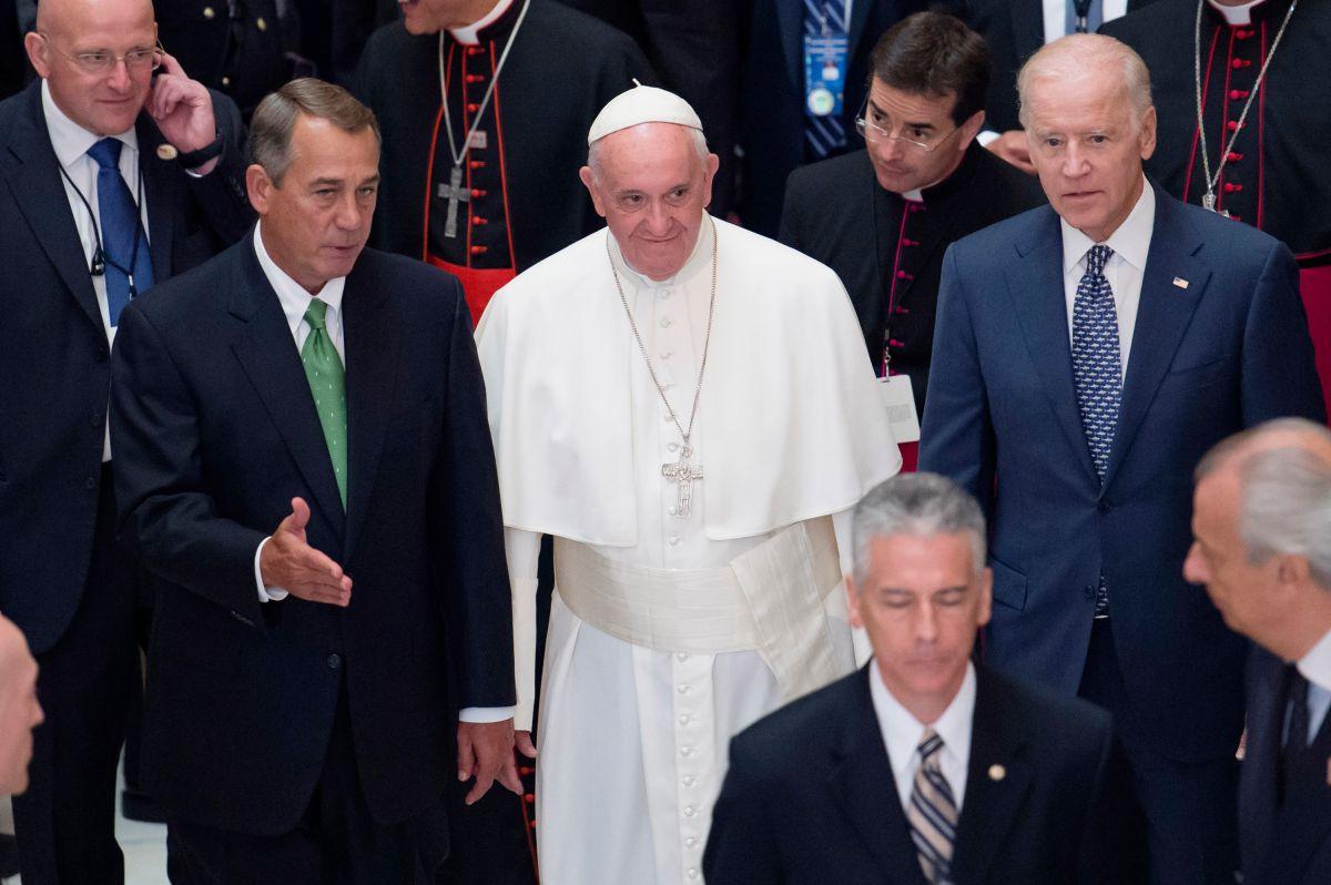 Las frases más importantes del discurso del papa en el Capitolio