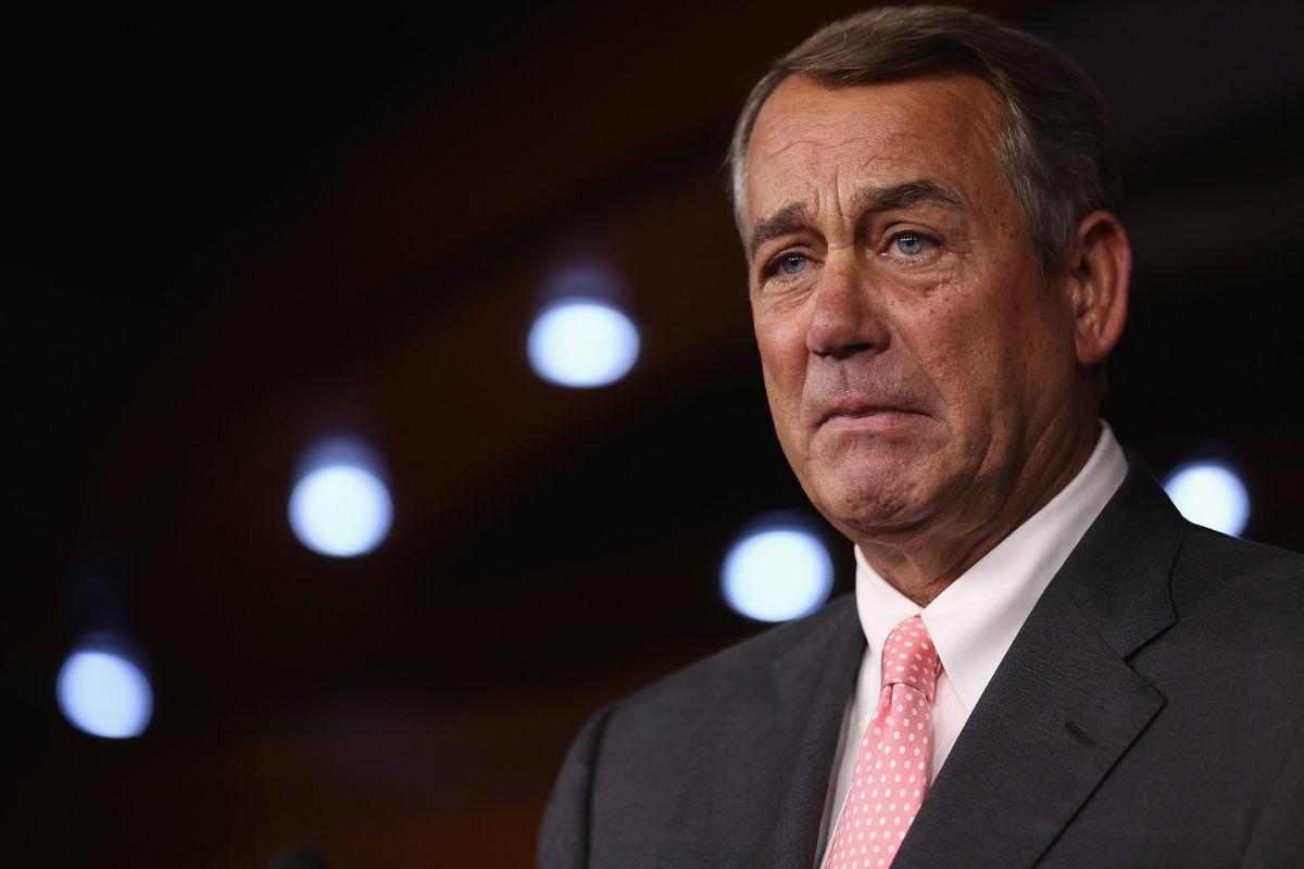 """Boehner, una """"baja"""" del ala derecha del Partido Republicano en el Congreso"""
