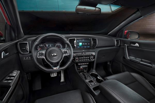 Kia mostró el nuevo interior del Sportage 2016