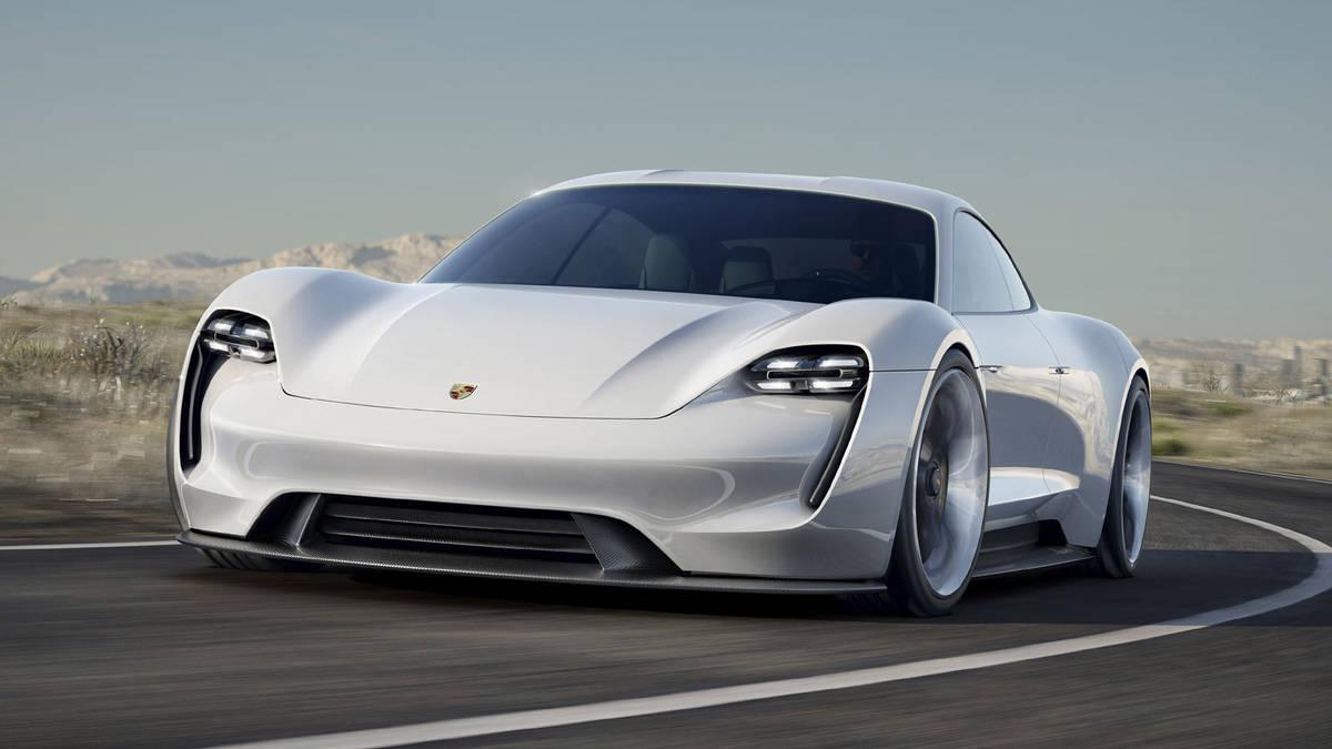 Porsche Misión E, el deportivo del futuro
