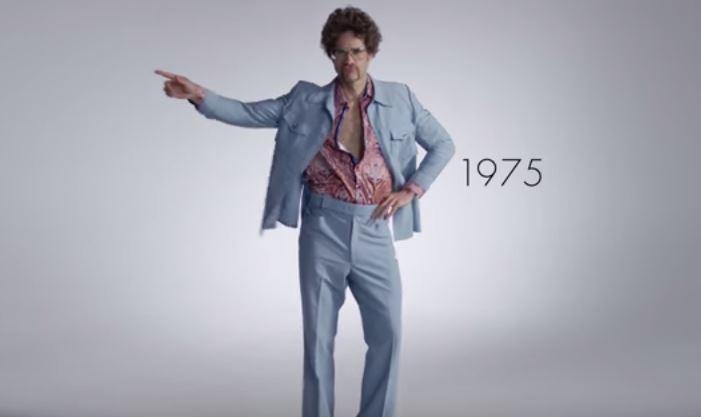 100 años de moda masculina en 3 minutos