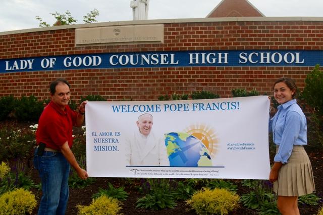 Mensaje del Papa inspira a jóvenes latinos del área de Washington