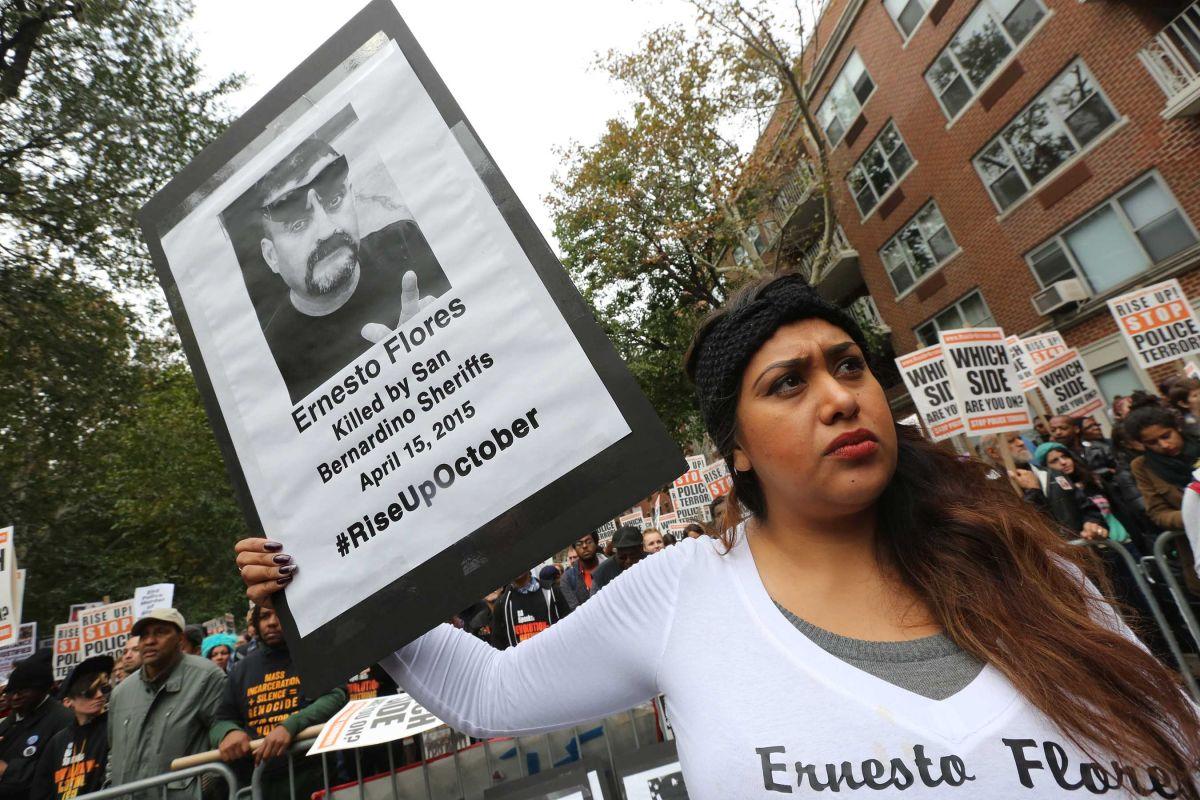 Activistas llegan de todo el país a NYC en protesta de abuso policial