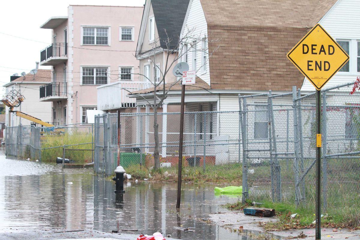 En el año 2012 se produjo la supertormenta Sandy, que les arruinó la vivienda y la vida a miles de neoyorquinos.  /ARCHIVO