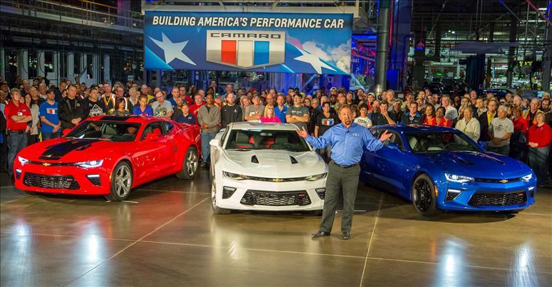 El icónico Camaro regresa a EEUU