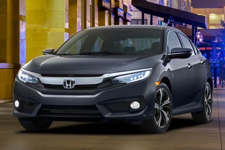Civic es la apuesta de Honda para 2016