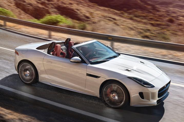 Jaguar F-Type 2016: prueba de manejo