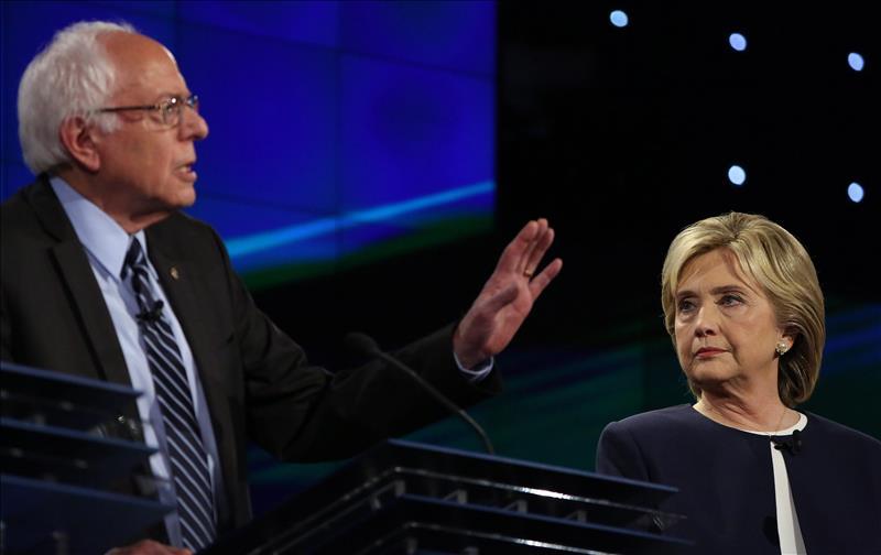 Sanders gana terreno en las encuestas y amenaza con frenar avance de Clinton