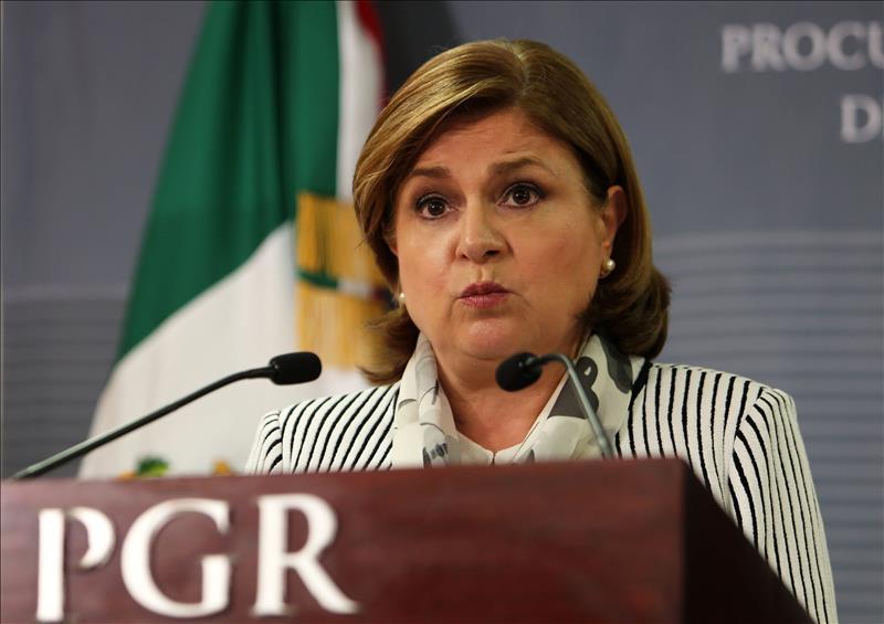 Arely Gómez, procuradora General de México.