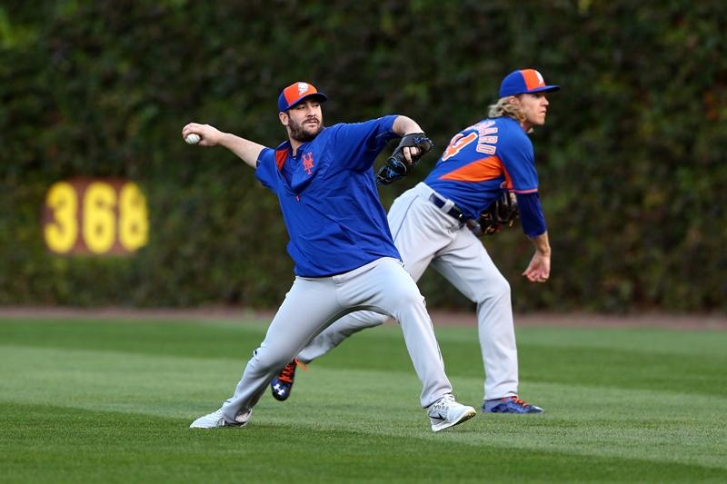 Alineados los jóvenes brazos de los Mets
