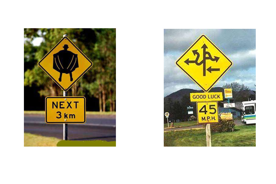 Conoce las 26 reglas de tránsito más ridículas