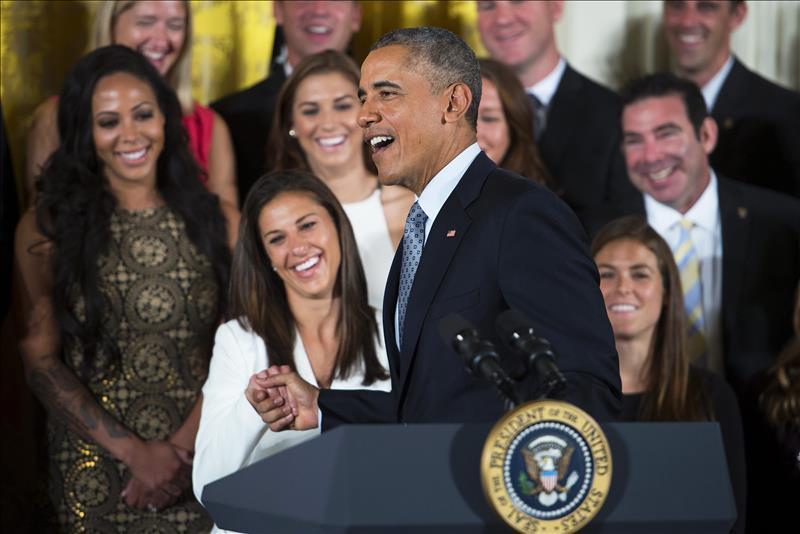 "Obama elogia ""tremenda"" labor de selección nacional de fútbol femenino"