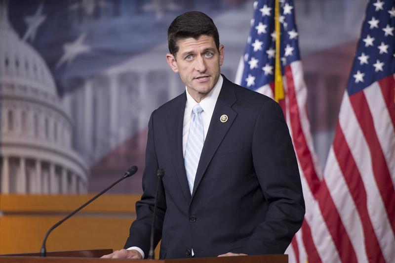 Ryan se lanza para presidir Cámara Baja, promete que no habrá voto por Reforma Migratoria