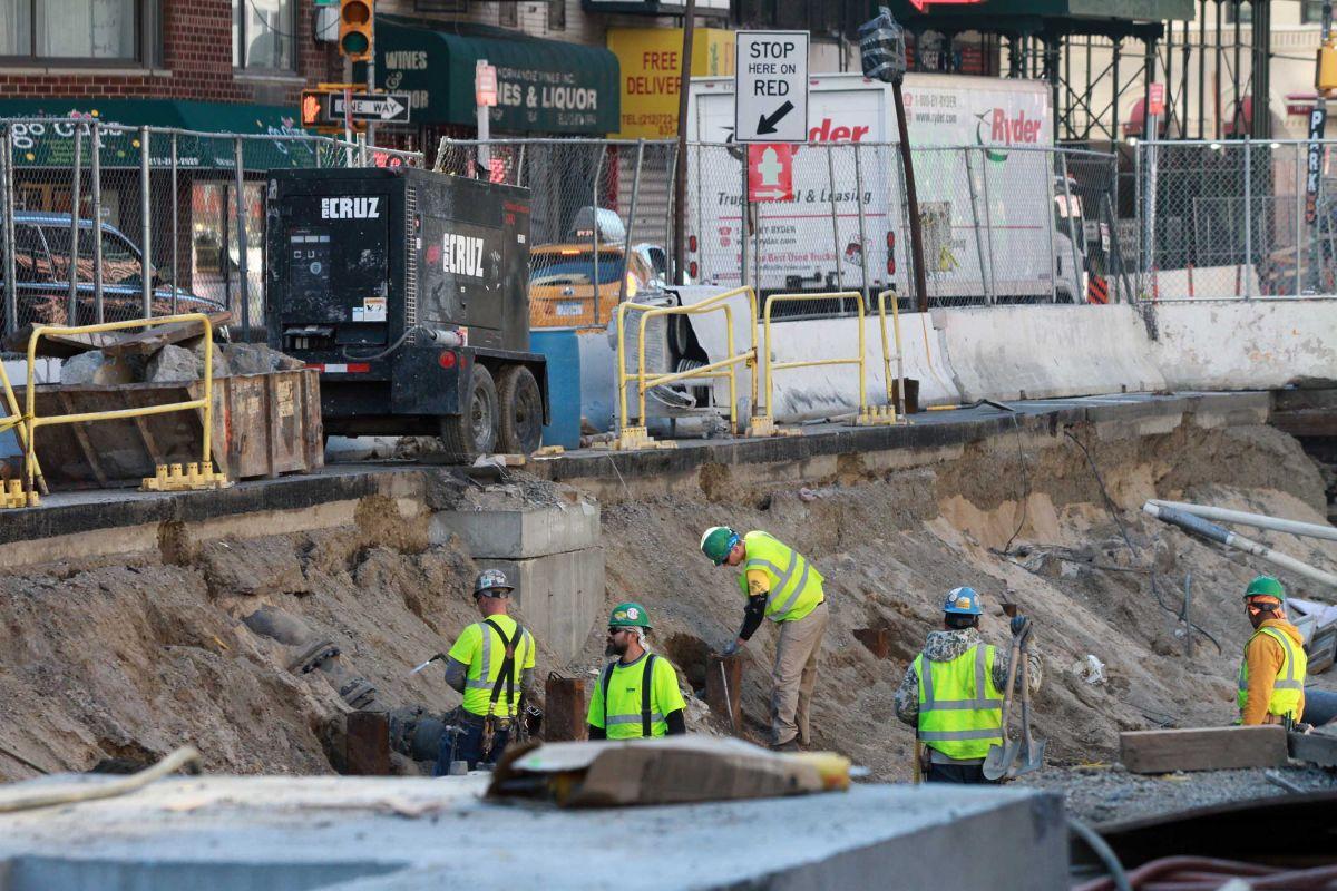 El Barrio se queda sin metro en la Segunda Avenida