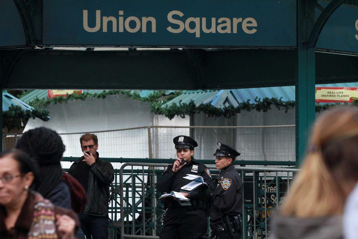 Pasajero fue empujado por otro a las vías del Metro de Nueva York
