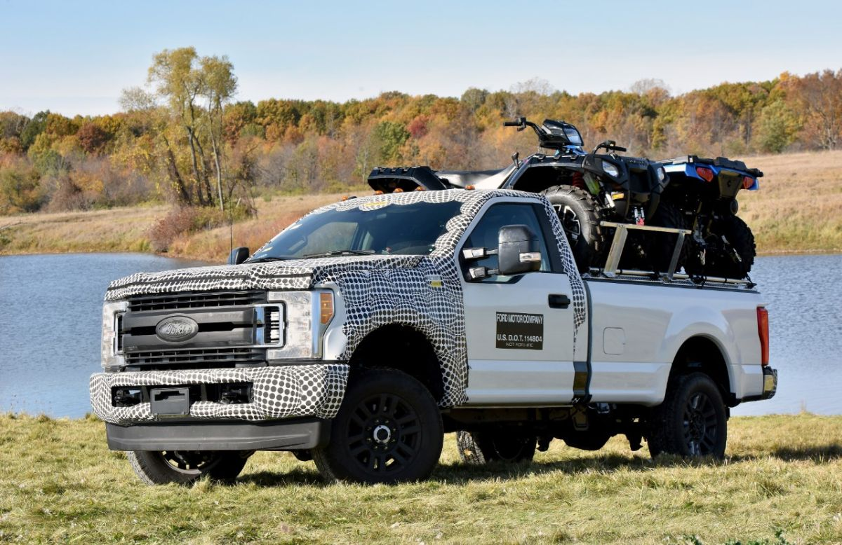 Ford hizo de todo para probar el nuevo Super Duty