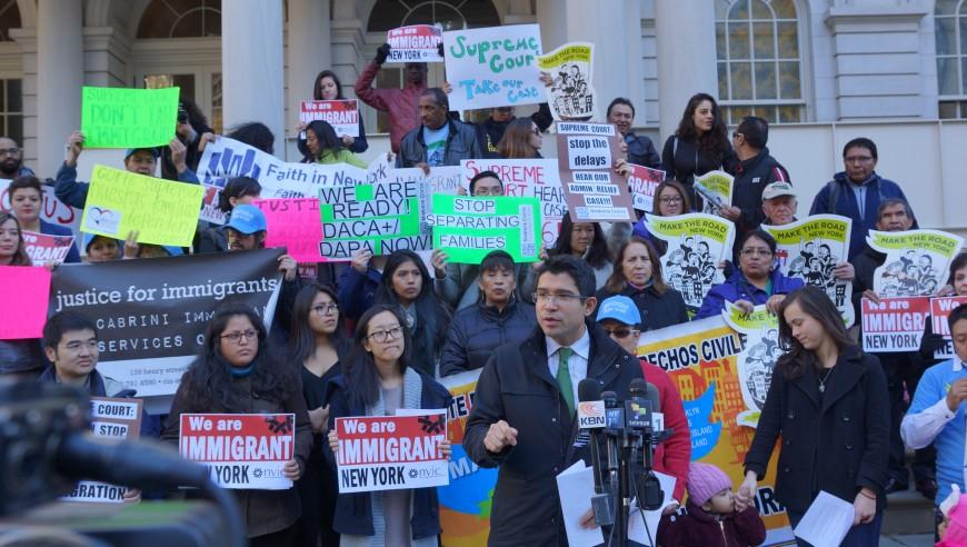 Latinos claman por DAPA desde NYC