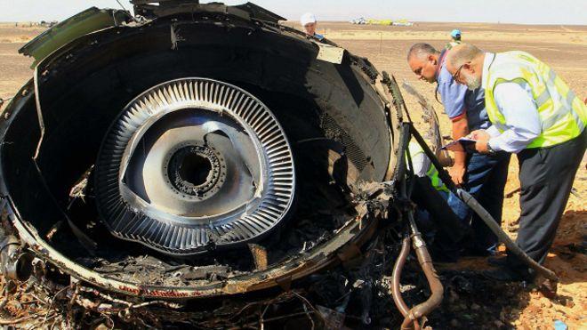 """Rusia admite que """"atentado terrorista"""" causó derribo del avión en Egipto"""