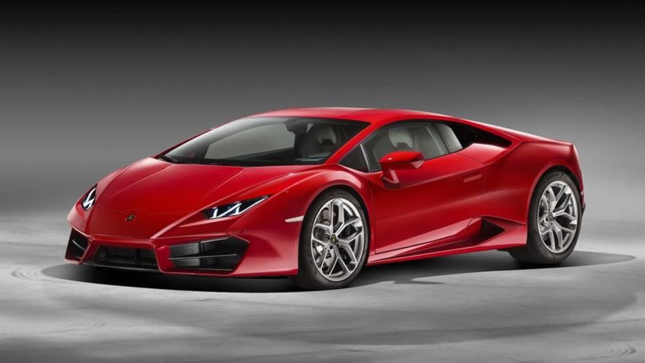 El nuevo Lamborghini es un Huracán