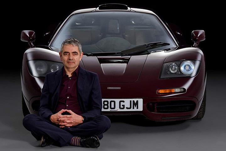 Mr. Bean y su exótico vehículo que lo llevó al divorcio