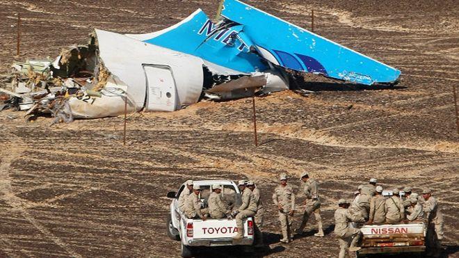 EEUU cree que ISIS pudo atentar contra el avión ruso caído en Egipto