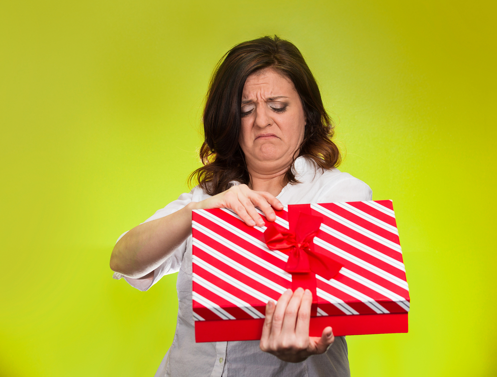 Evita esos regalos 'incómodos'