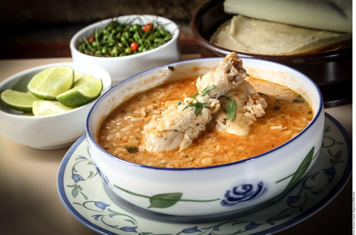 Caliéntate con una sopa