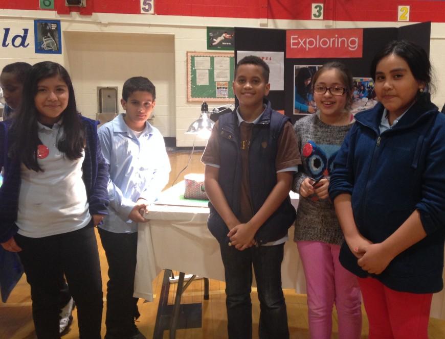 Promueven carreras STEAM en la escuela intermedia