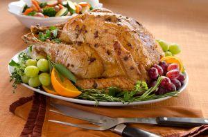 La cena de Acción de Gracias este año será algo más barata