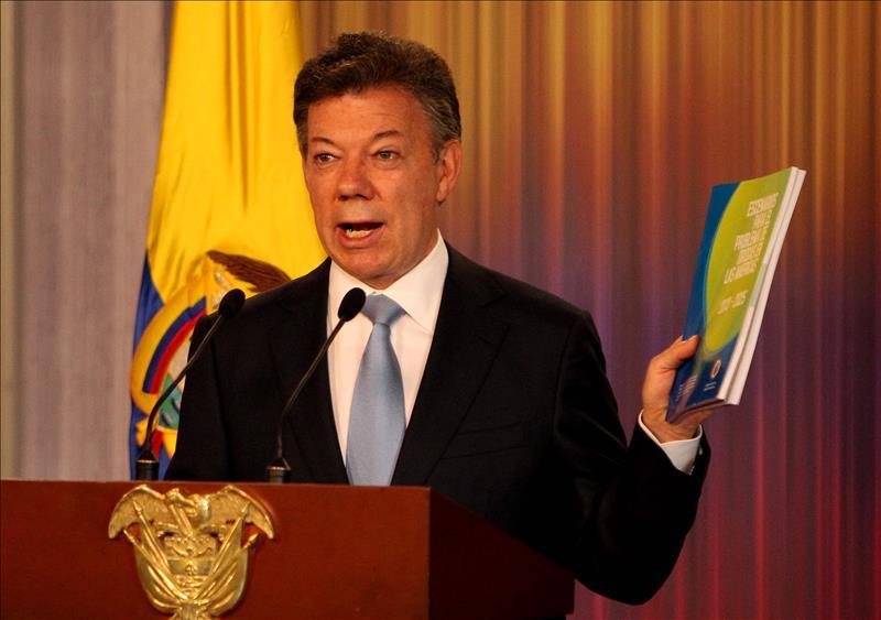 El presidente Santos firma decreto para uso medicinal de la marihuana