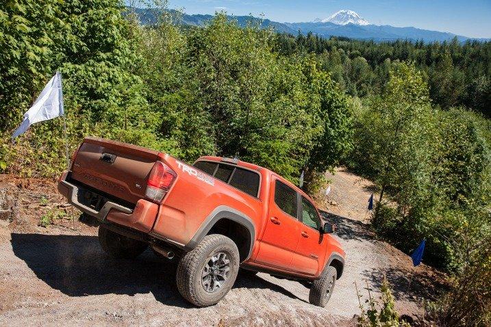 Toyota Tacoma 2016: prueba de manejo