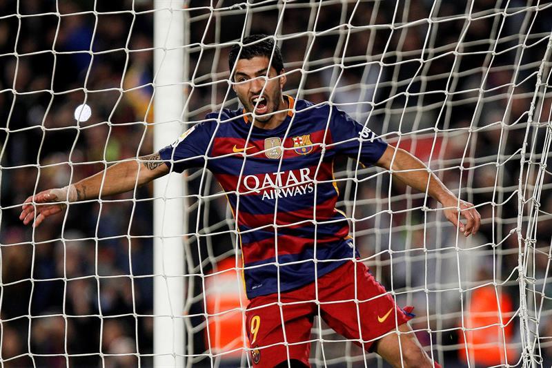 Luis Suárez, nuevo líder de goleo en La Liga española