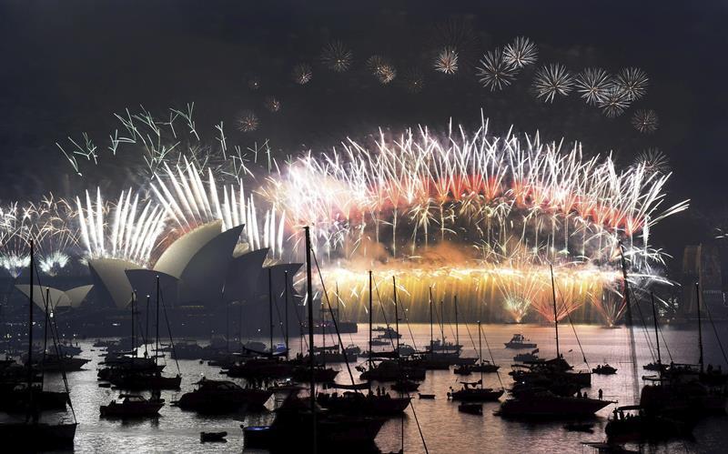 ¡Feliz Año Nuevo! Nueva Zelanda, Kiribati y Samoa los primeros en recibir el 2016