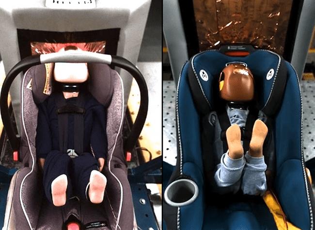 ¿Confías en que el asiento de auto de tu bebé es seguro?
