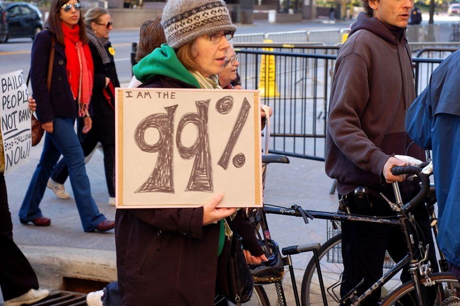 Los 20 más ricos tienen más plata que 152 millones de personas en EEUU