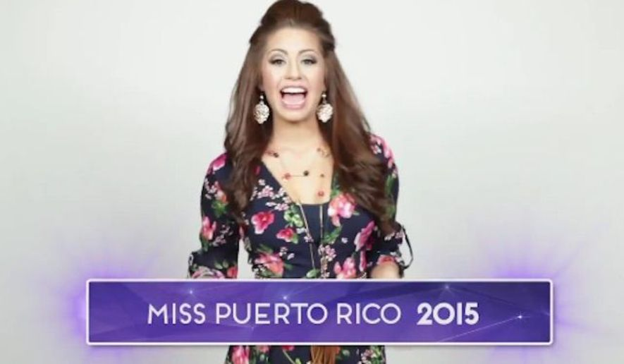 Suspenden a Miss Puerto Rico por comentarios anti-musulmanes