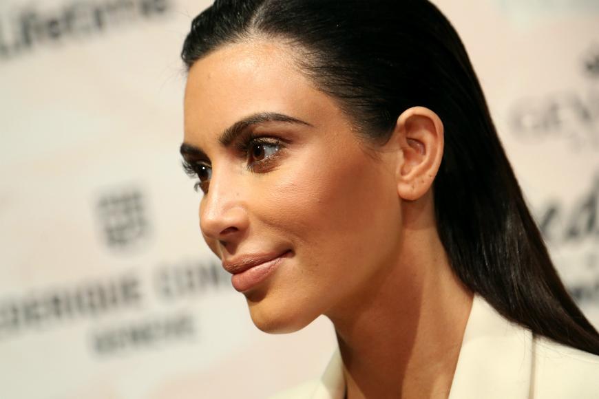 Las primeras imagenes de Kim Kardashian tras dar a luz
