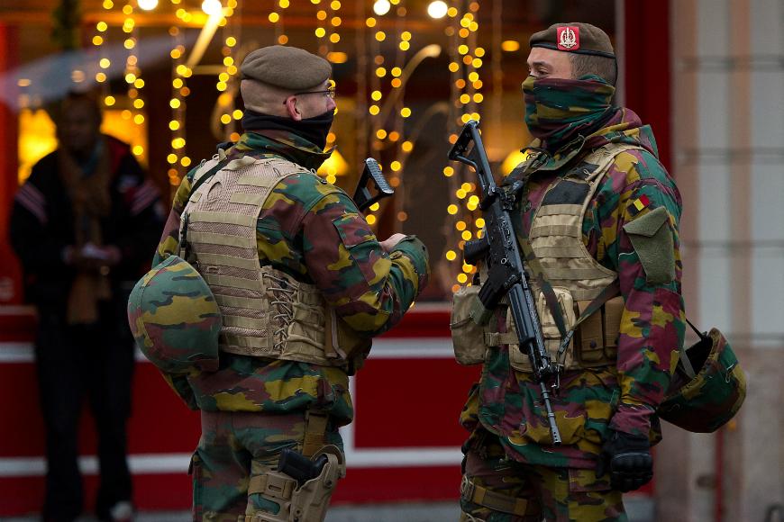 Seis detenidos en Bélgica por la amenaza de atentados en Nochevieja