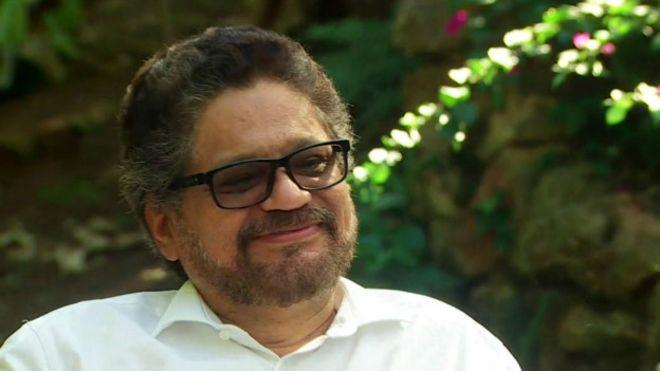 """""""Las FARC no tienen dinero"""", dice Iv��n Márquez, el número 2 de los rebeldes"""