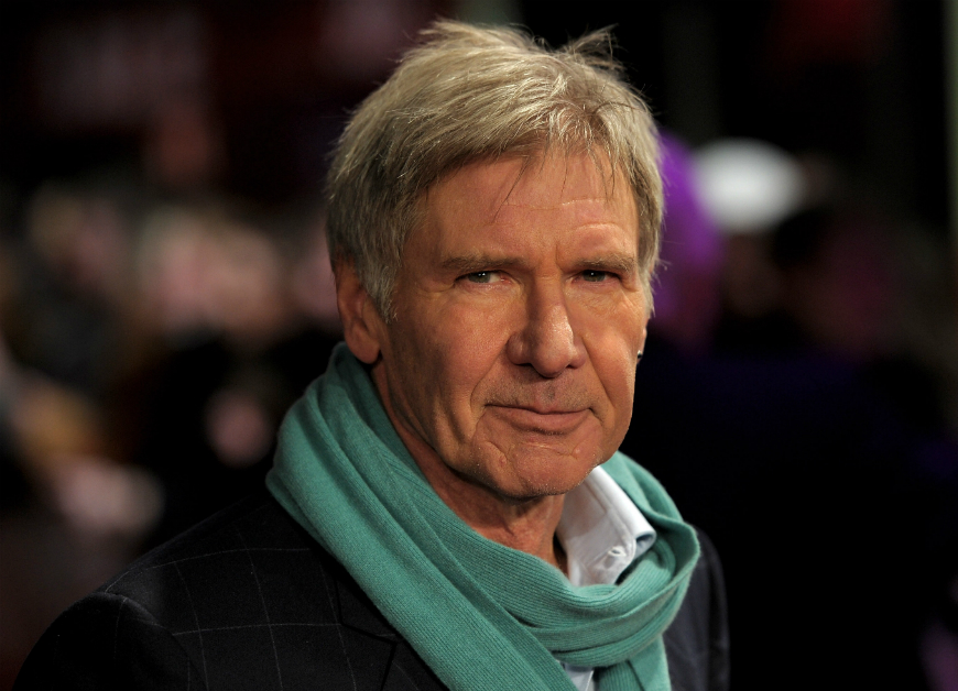 Harrison Ford tiene un mensaje para Donald Trump