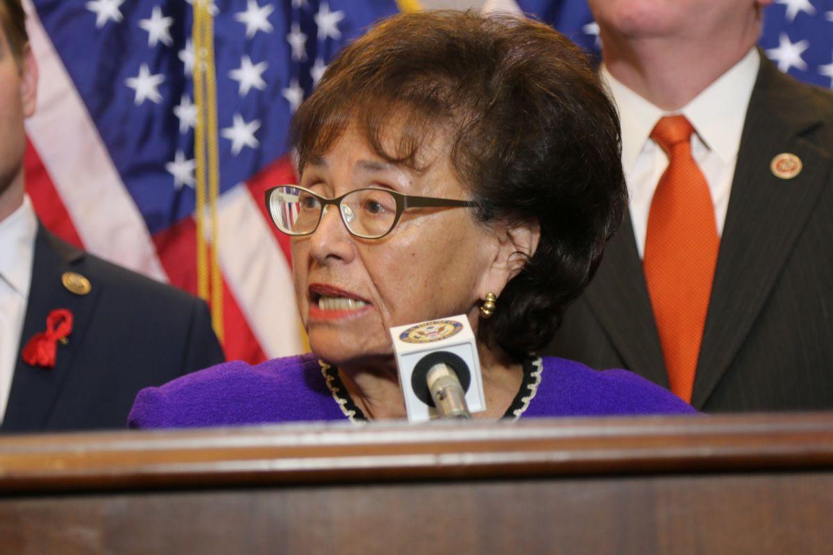 Veterana congresista (D) Nita Lowey de Nueva York anuncia su retiro
